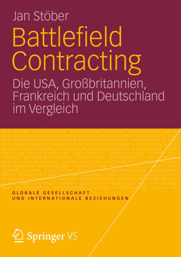 Battlefield Contracting als Buch von Jan Stöber