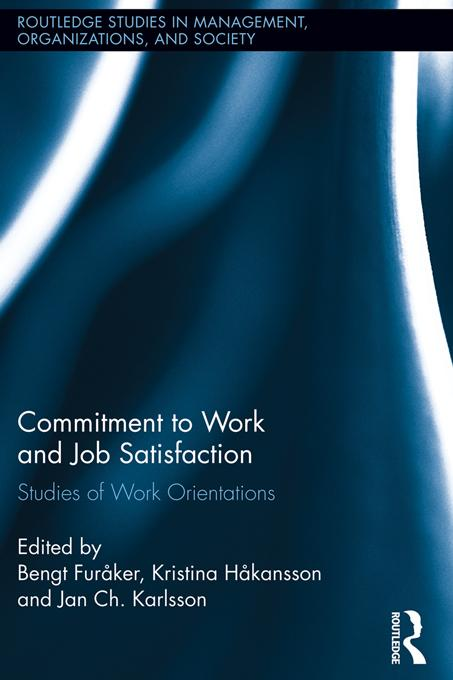 Commitment to Work and Job Satisfaction als eBo...