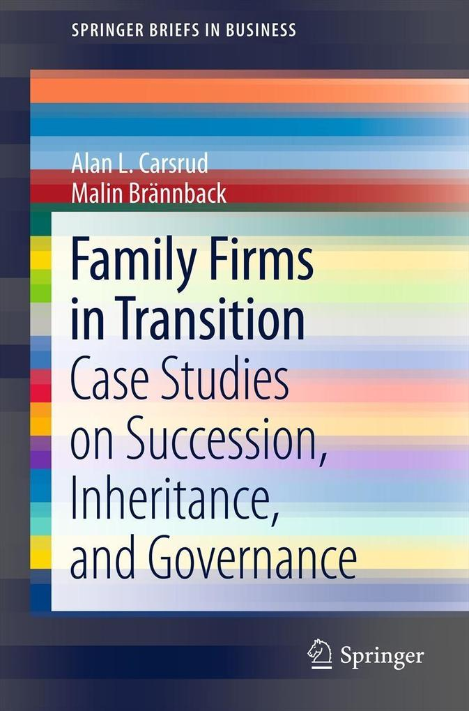 Family Firms in Transition als eBook Download v...