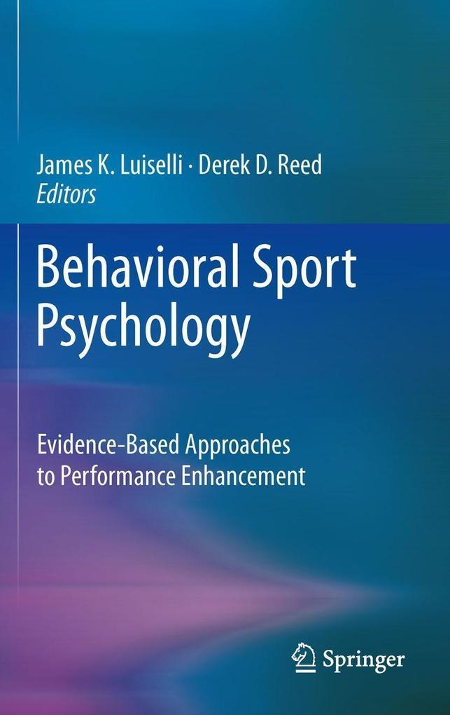 Behavioral Sport Psychology als eBook Download von
