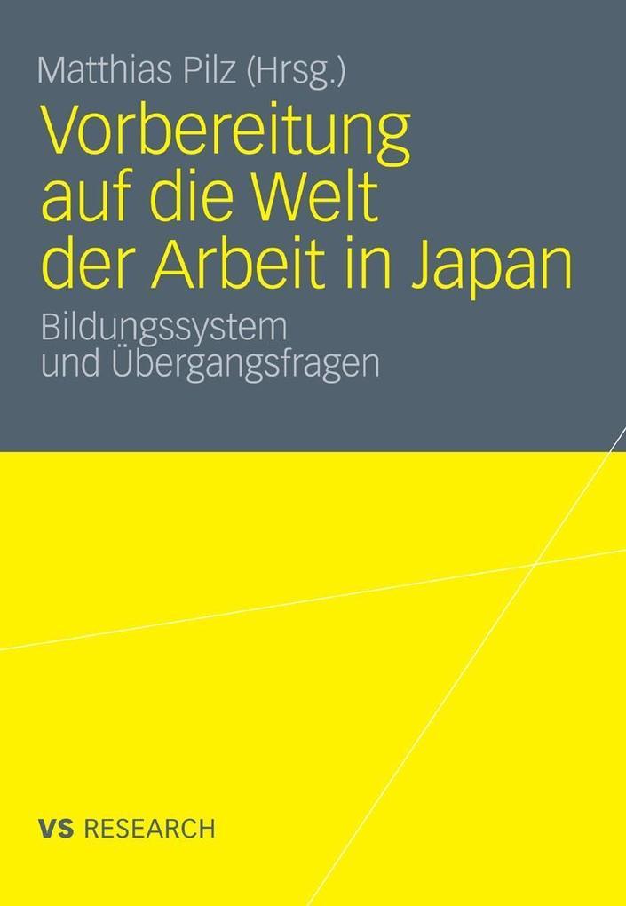 Vorbereitung auf die Welt der Arbeit in Japan a...