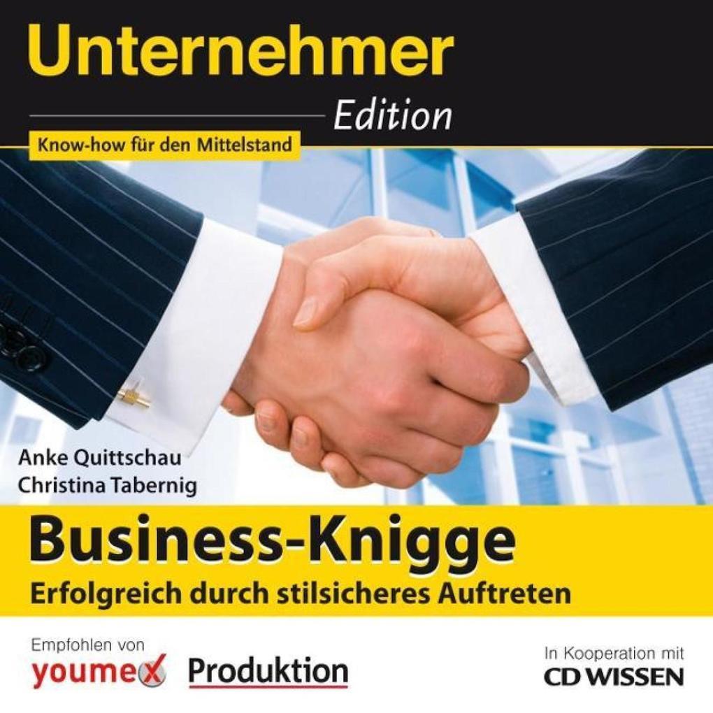 CD WISSEN - Unternehmeredition - Business-Knigg...
