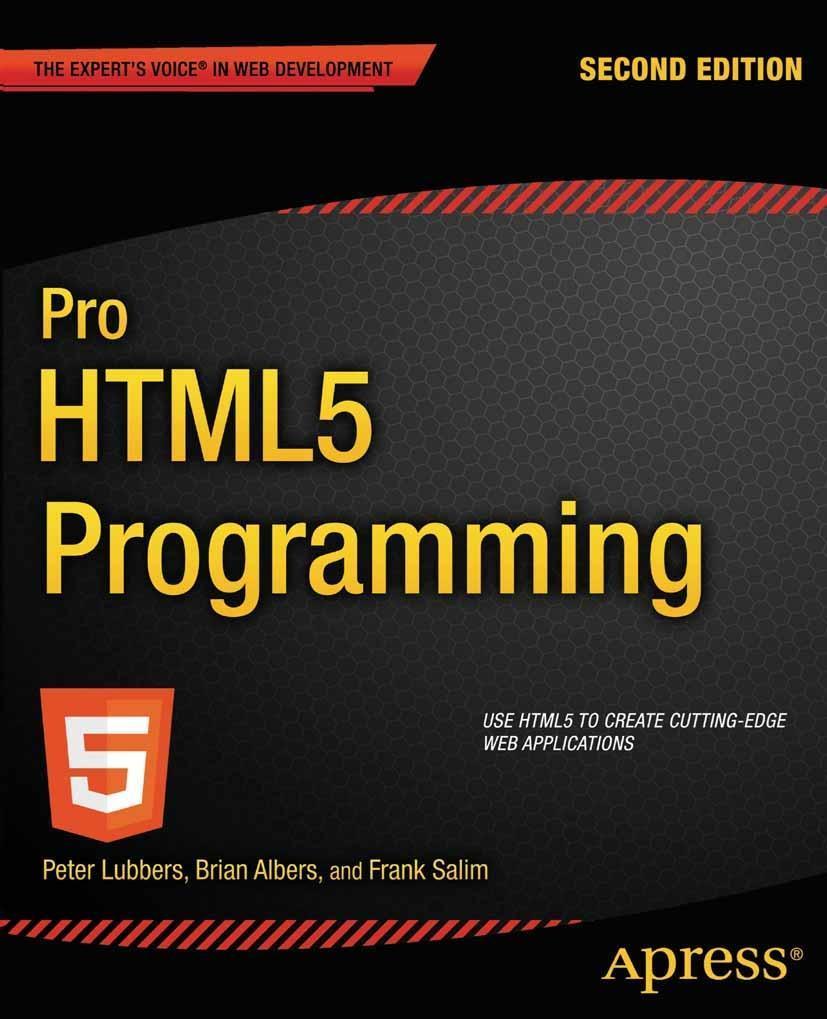 Pro HTML5 Programming als eBook Download von Pe...