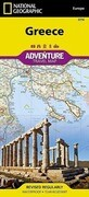 Greece Adventure Travel Map