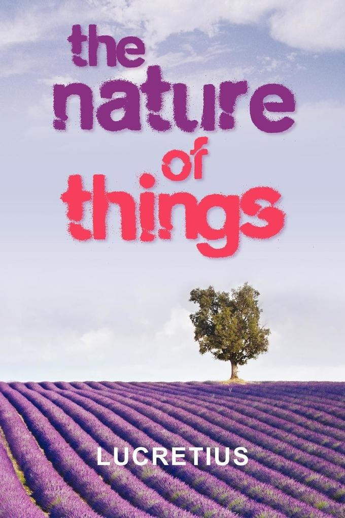 The Nature of Things als Taschenbuch