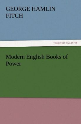 Modern English Books of Power als Buch von Geor...