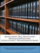 Zeitschrift Der Deutschen Morgenländischen Gesellschaft, Neunzehnter Band