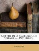 Goethe in Straßburg und Sesenheim: Dichtung von Moritz Horn.