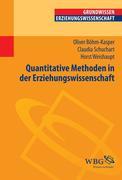 Quantitative Methoden in der Erziehungswissenschaft