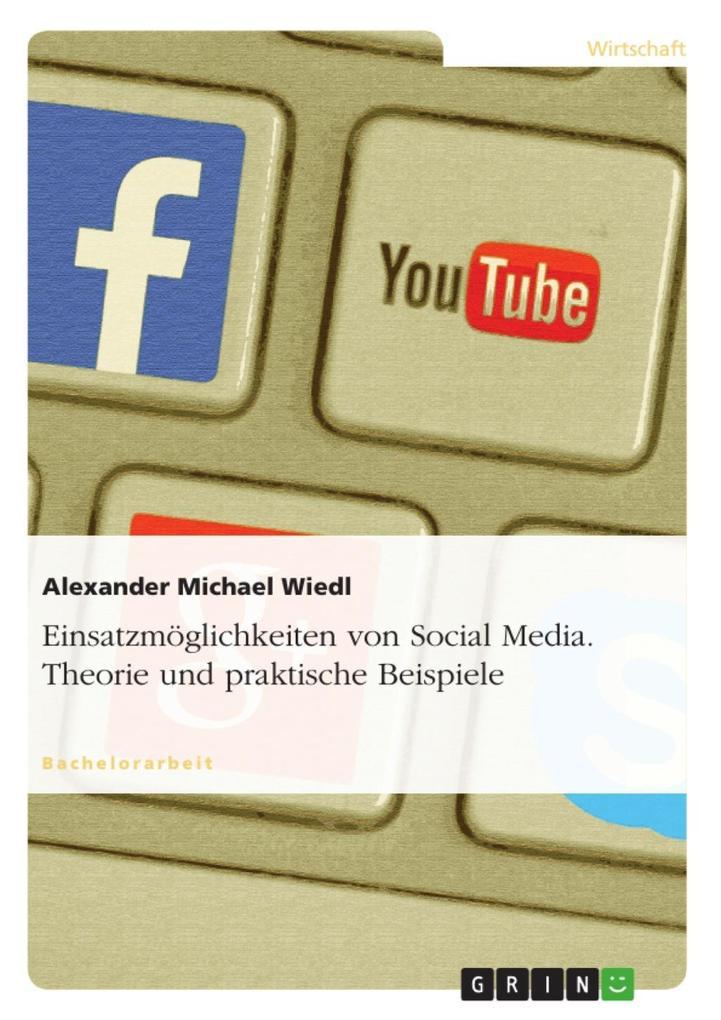 Einsatzmöglichkeiten von Social Media - dargest...