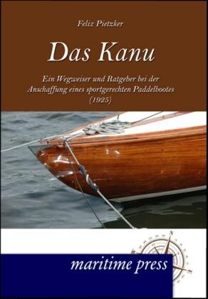 Das Kanu als Buch von Hugo Schmidt