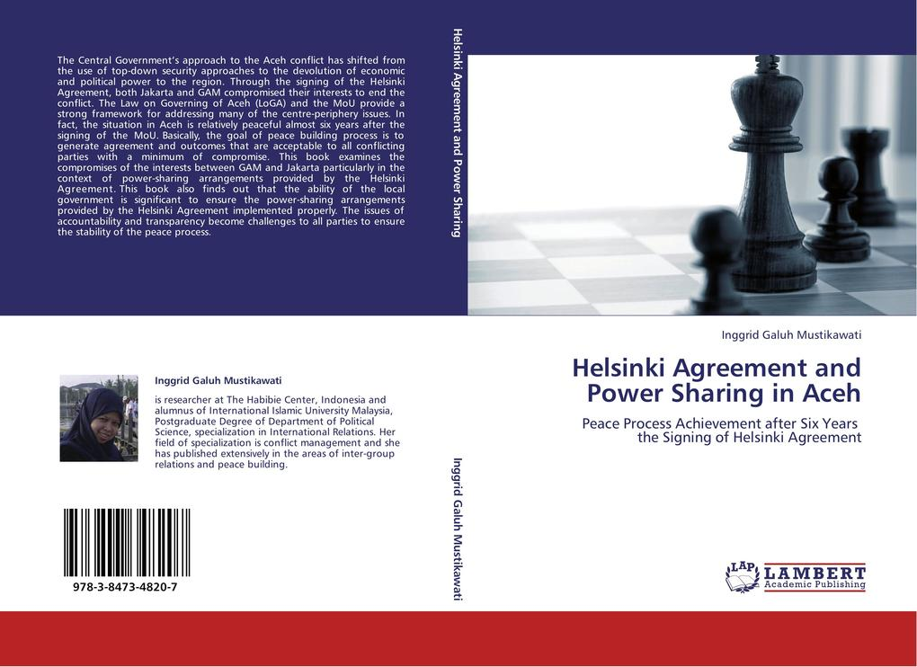 Helsinki Agreement and Power Sharing in Aceh al...