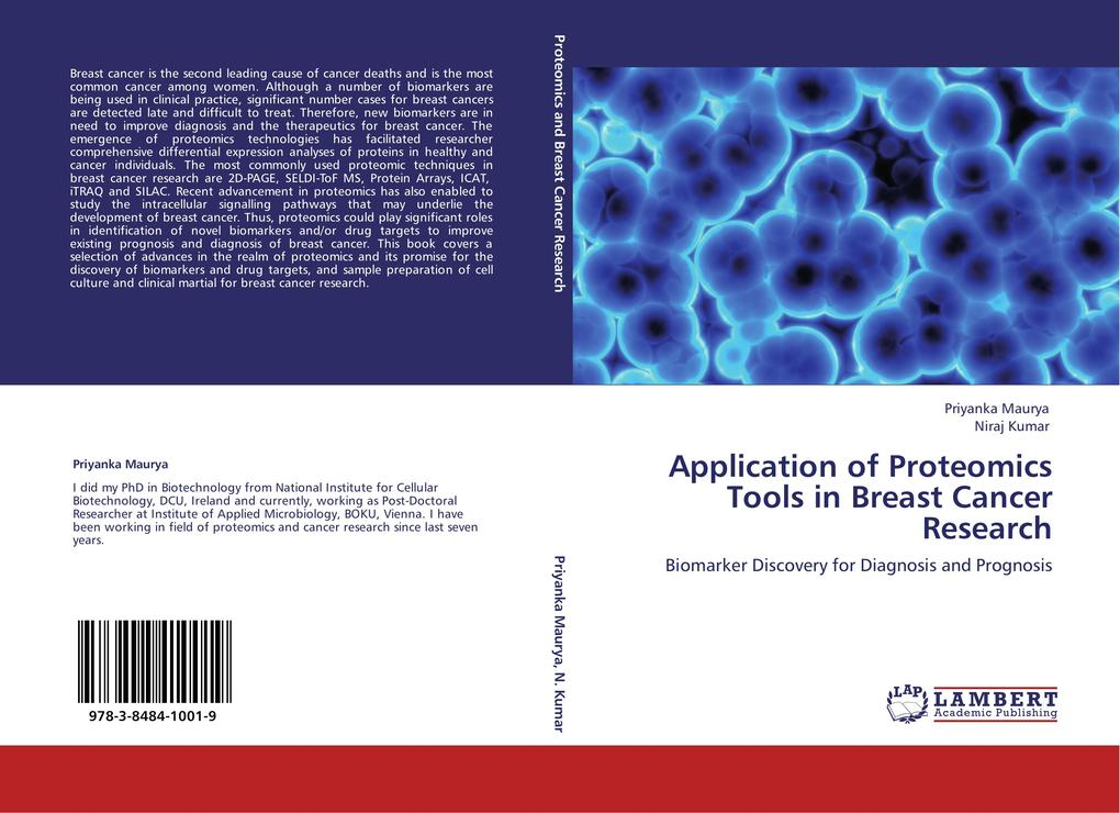Application of Proteomics Tools in Breast Cancer Research als Buch (kartoniert)