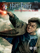 Harry Potter Instrumental Solos: Trumpet, Book & CD