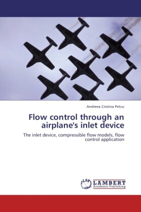 Flow control through an airplane´s inlet device...