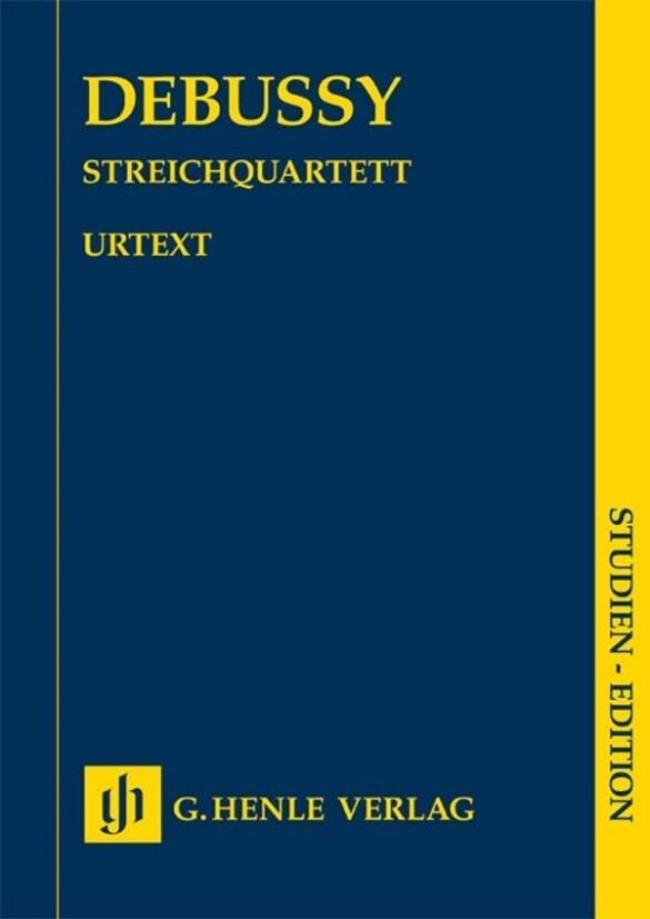 Streichquartett als Buch von Claude Debussy