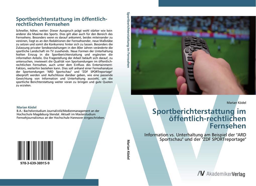 Sportberichterstattung im öffentlich-rechtliche...