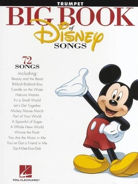 The Big Book of Disney Songs (Trumpet) als Buch (gebunden)
