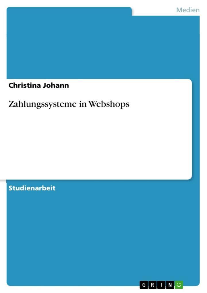 Zahlungssysteme in Webshops als eBook Download ...