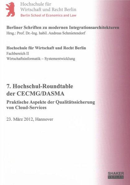 7. Hochschul-Roundtable der CECMG/DASMA als Buc...
