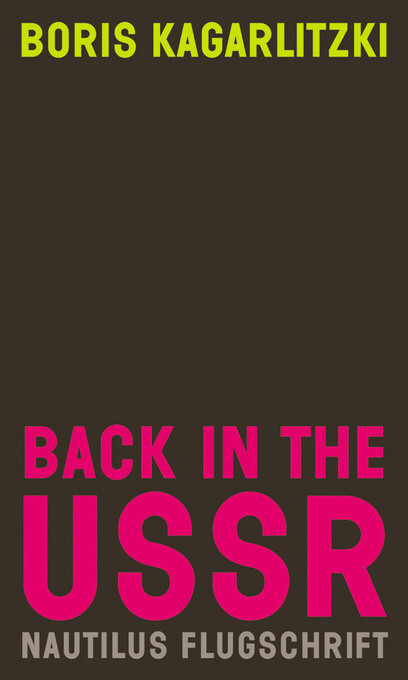 Back in the USSR als eBook Download von Boris Kagarlitzki - Boris Kagarlitzki