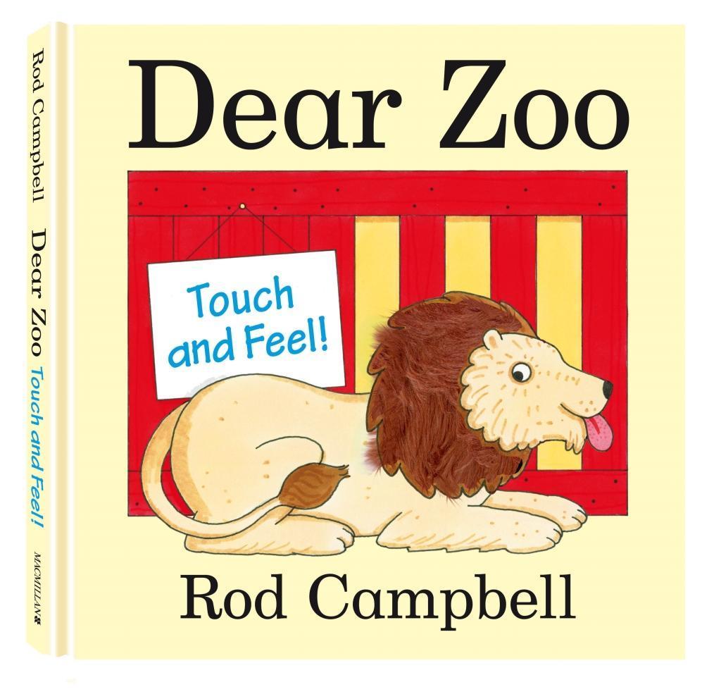 Dear Zoo Touch and Feel Book als Buch von Rod C...