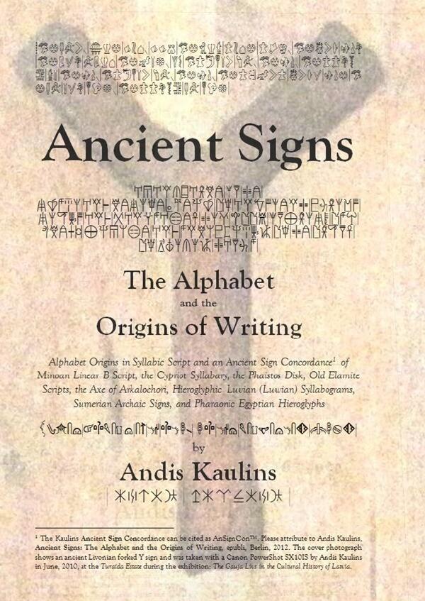 Ancient Signs als Buch (kartoniert)