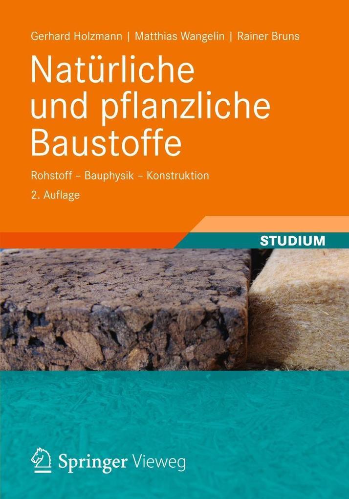 Natürliche und pflanzliche Baustoffe als Buch v...