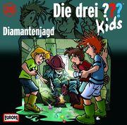 Die drei ??? Kids 28. Diamantenjagd (drei Fragezeichen) CD