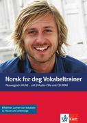 Norsk for deg (A1-A2). Vokabeltrainer mit 2 Audio-CDs und 1 CD-ROM