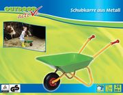Toy Company Outdoor Metallschubkarre grün-gelb