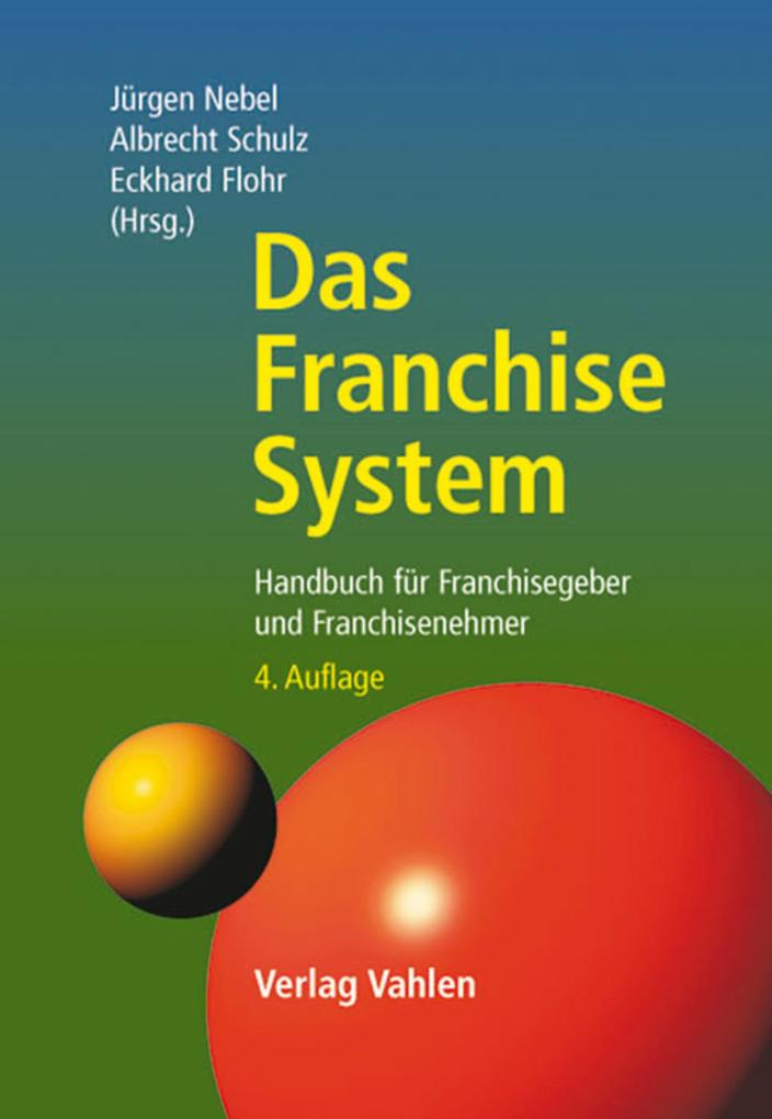 Das Franchise-System als eBook Download von