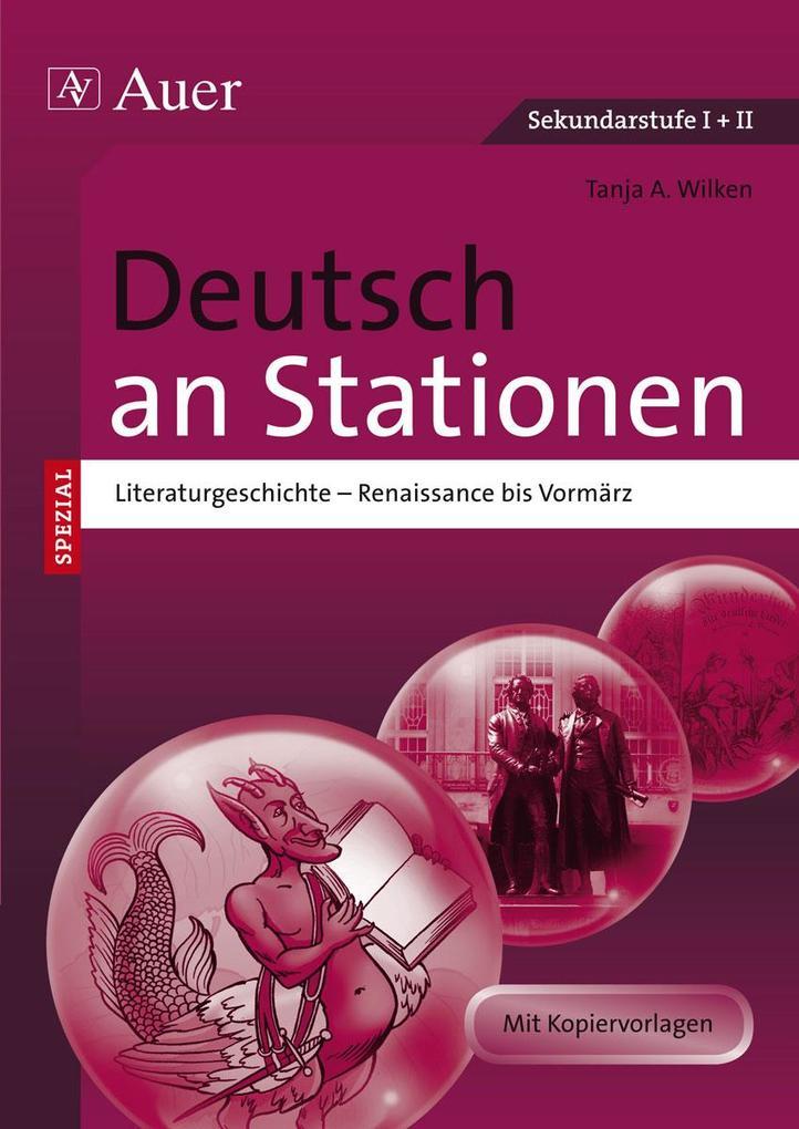 Deutsch an Stationen spezial Literaturgeschichte 1 als Buch