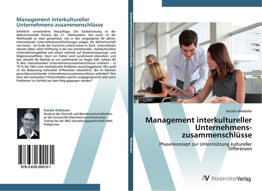 Management interkultureller Unternehmens-zusamm...