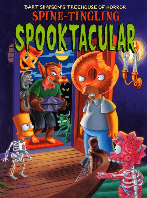Bart Simpson's Treehouse of Horror Spine-Tingling Spooktacular als Taschenbuch