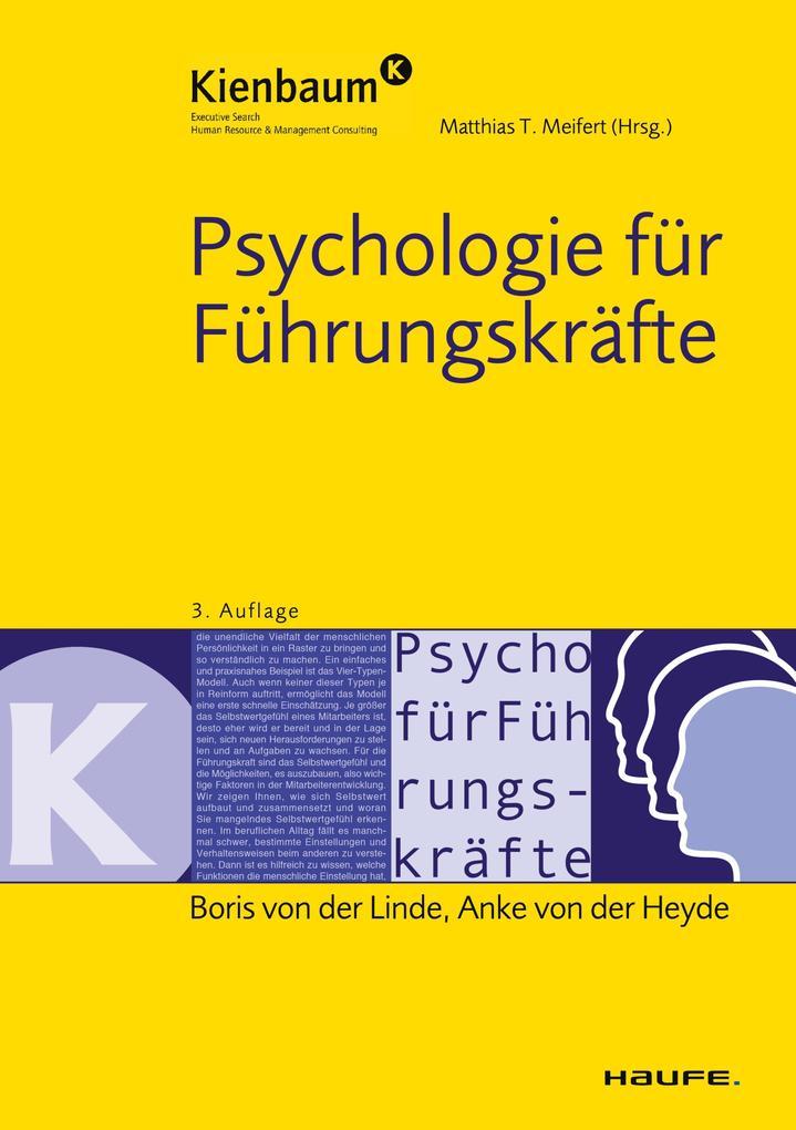 Psychologie für Führungskräfte als eBook Downlo...