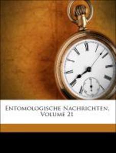 Entomologische Nachrichten, Volume 21 als Tasch...