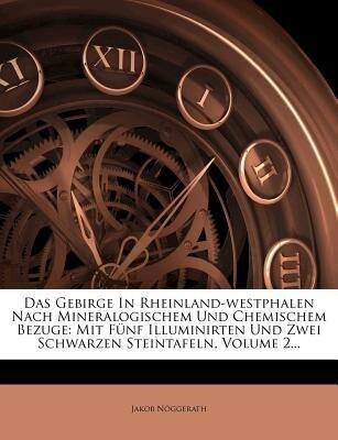 Das Gebirge In Rheinland-westphalen Nach Minera...