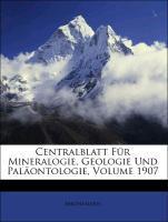 Centralblatt Für Mineralogie, Geologie Und Palä...