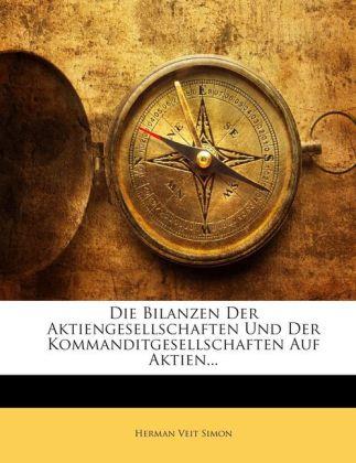 Die Bilanzen Der Aktiengesellschaften Und Der K...