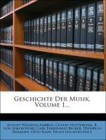 Geschichte Der Musik, Volume 1... als Taschenbu...