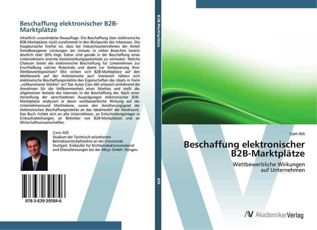 Beschaffung elektronischer B2B-Marktplätze als ...