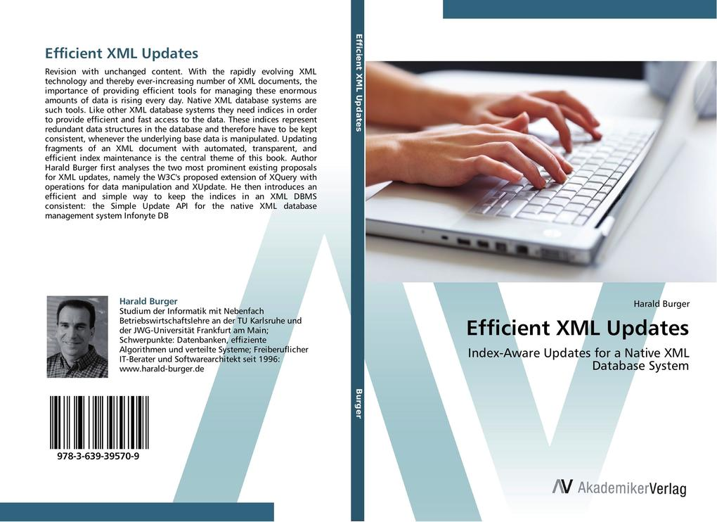 Efficient XML Updates als Buch von Harald Burger