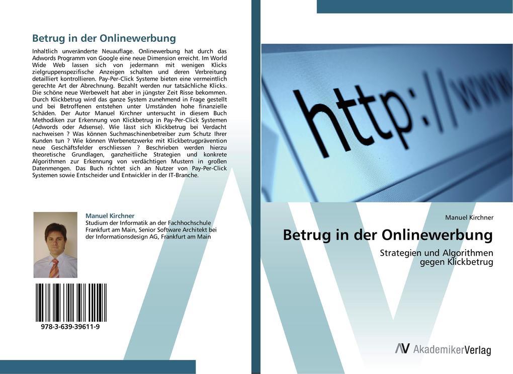 Betrug in der Onlinewerbung als Buch von Manuel...