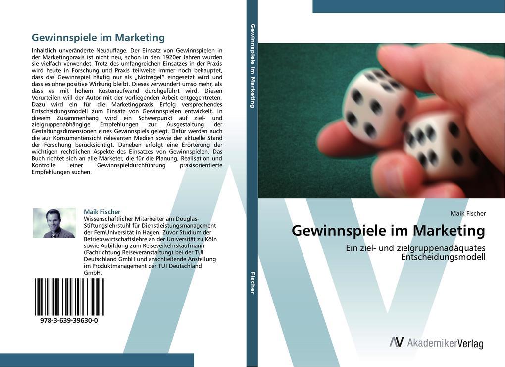 Gewinnspiele im Marketing als Buch von Maik Fis...