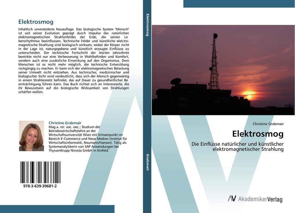 Elektrosmog als Buch von Christine Grabmair