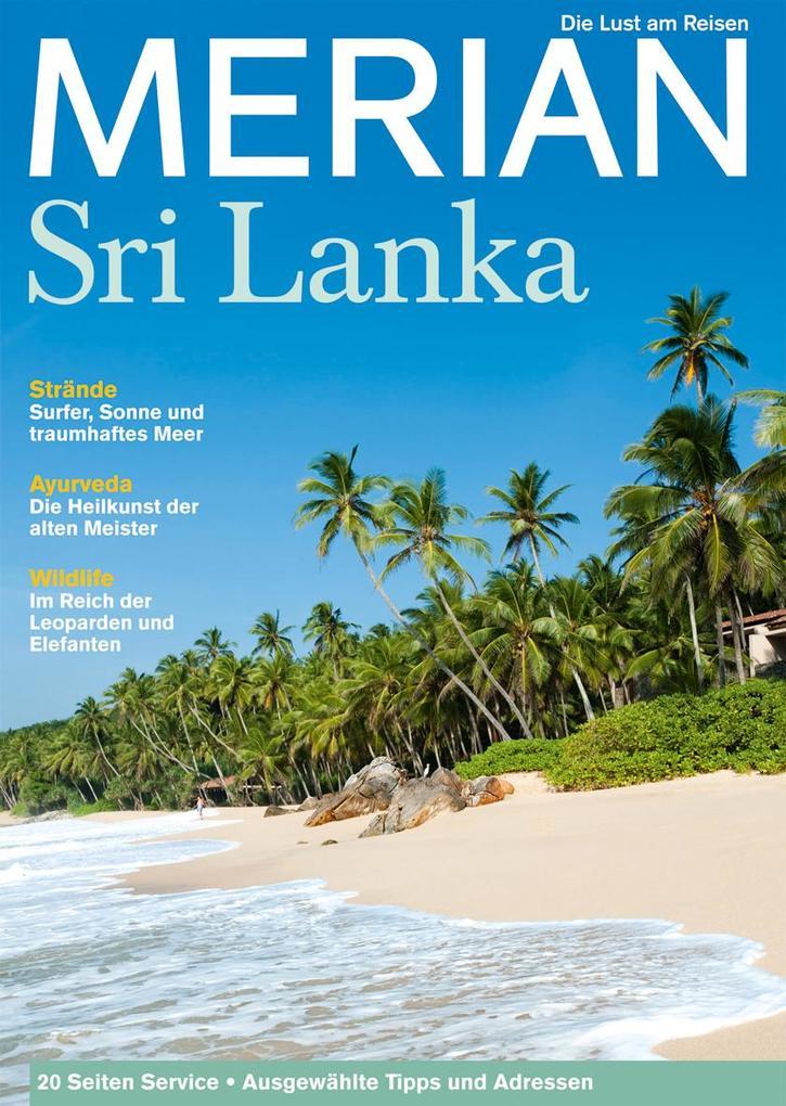 MERIAN Sri Lanka als Buch von