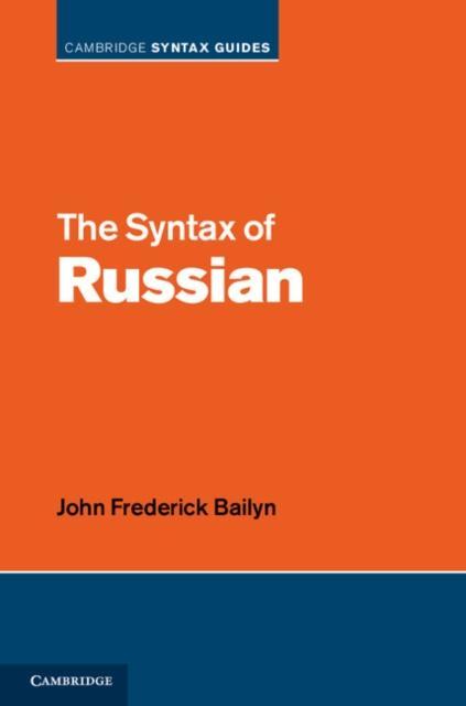 Syntax of Russian als eBook Download von John F...