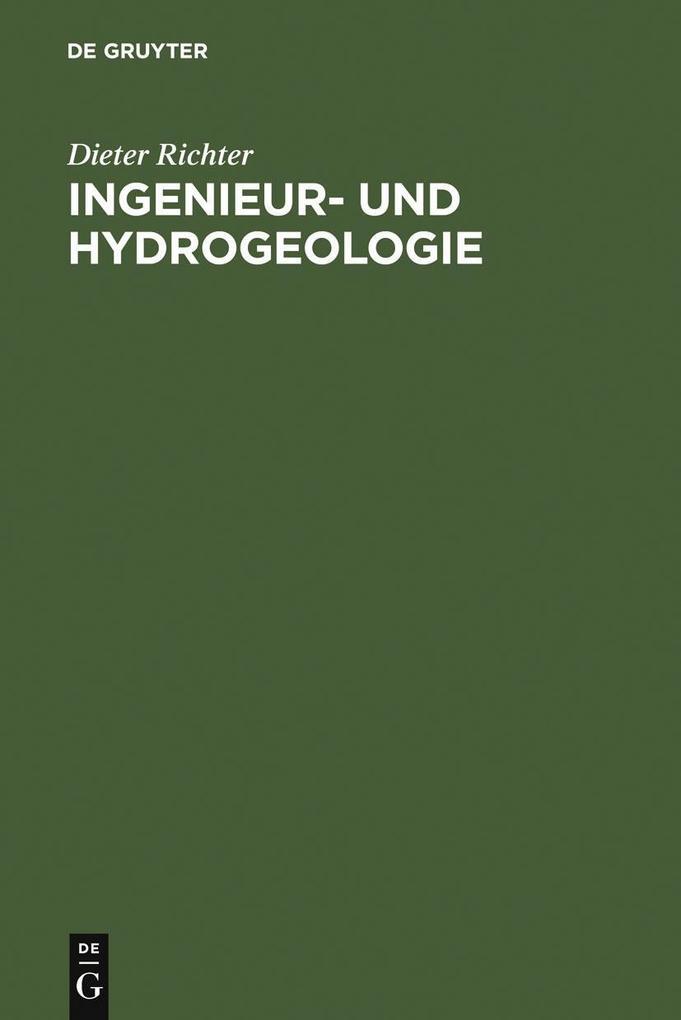 Ingenieur- und Hydrogeologie als eBook Download...