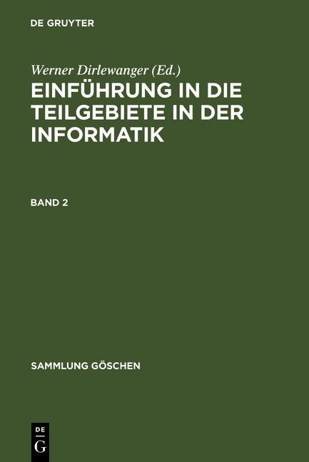 Einführung in die Teilgebiete der Informatik. B...